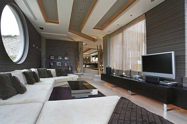 Delightful ... Decorating Ultra Modern Living Room