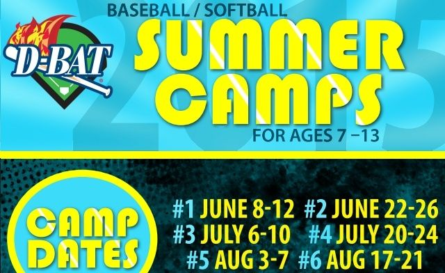 One Day Of Baseball Softball Camp For Only 37 50 Softball Camp Baseball Softball Softball