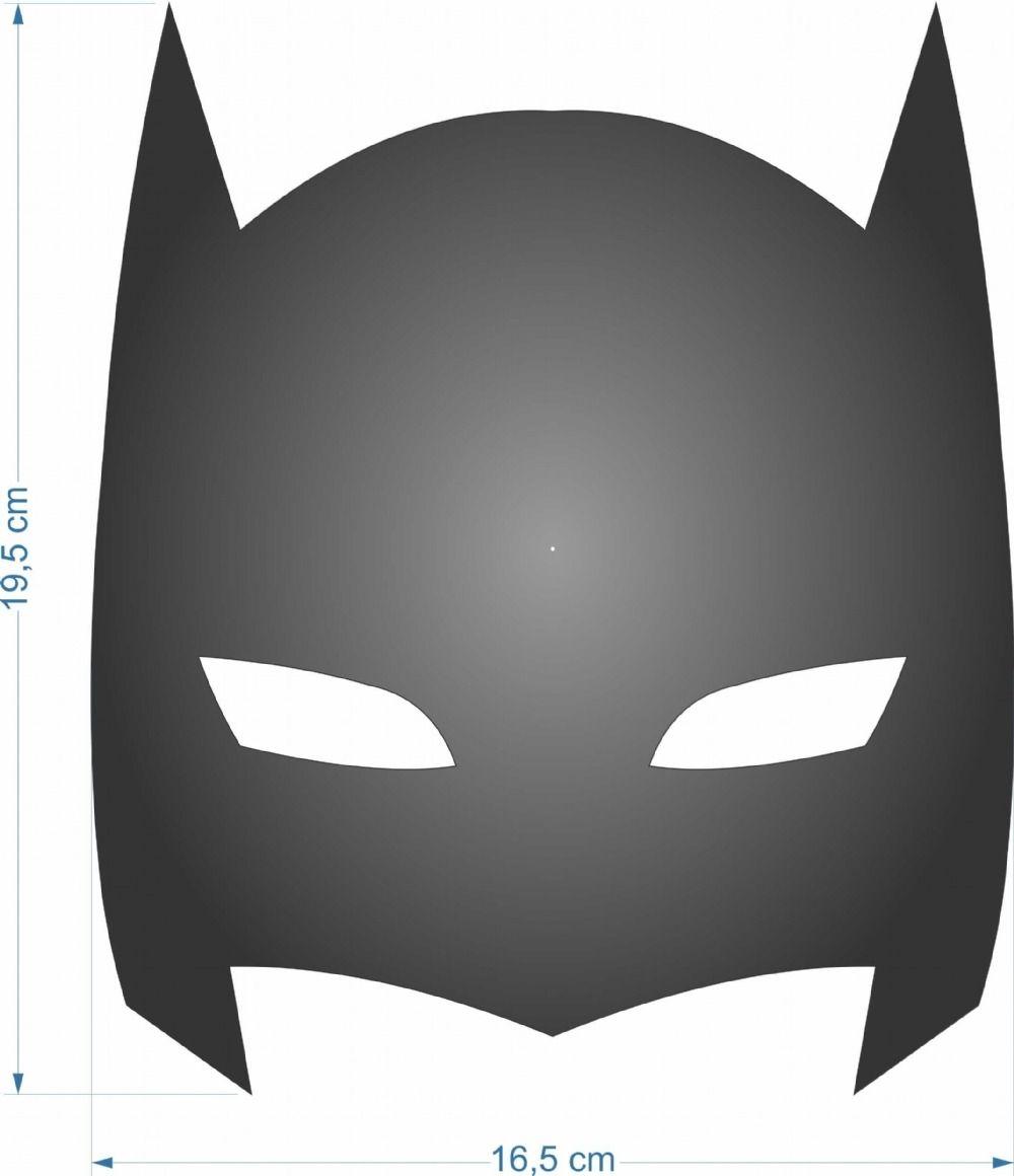 Resultado De Imagem Para Mascara Do Batman Molde