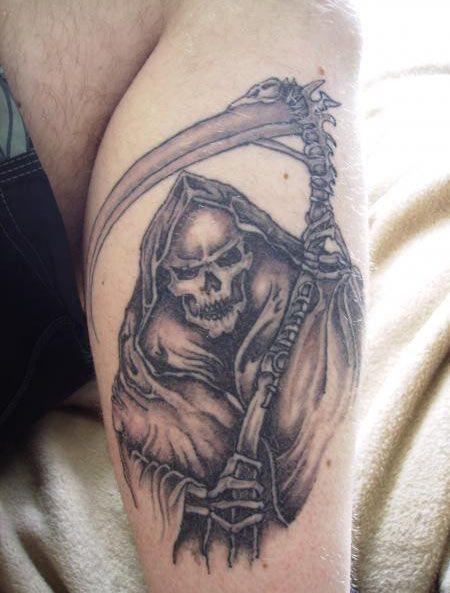 Posts Cool Death Grim Reaper Tattoo On Arm Grim Reaper Death Tattoo