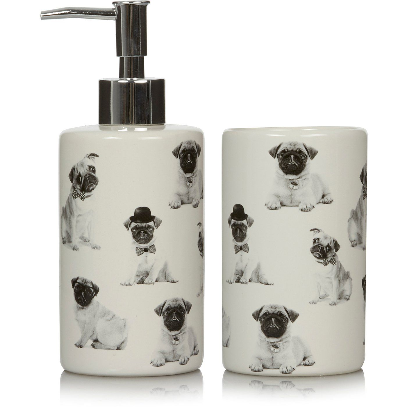 Buy George Home Pug Bath Accessories Range from our Bathroom ...