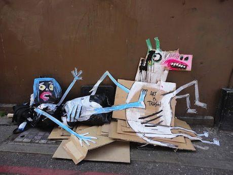 Street Art from Francisco de Pajaro