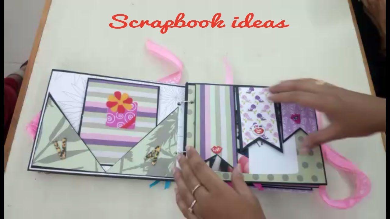 25 Brilliant Picture Of Diy Scrapbook Ideas Scrapbook Diy Ideas