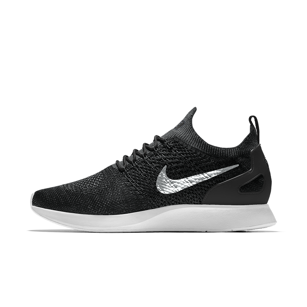 4bbf608d1a24 Nike Air Zoom Mariah Flyknit Racer iD Men s Shoe Size 7.5 (Black ...