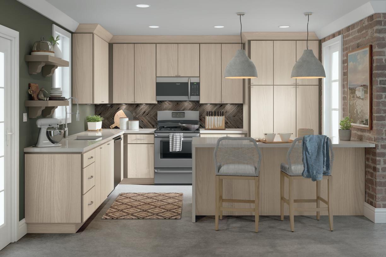 Homecrest Design Layouts in 9   Laminate kitchen cabinets ...