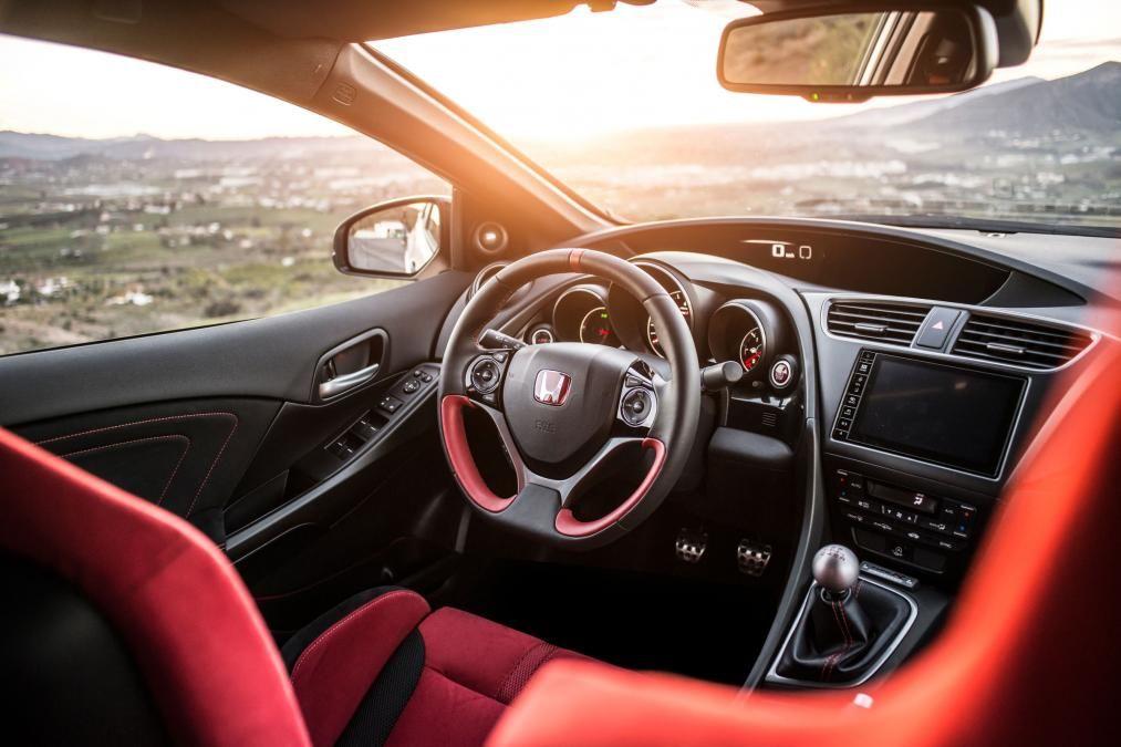 Honda Civic Type R 2015 interior Honda Honda civic