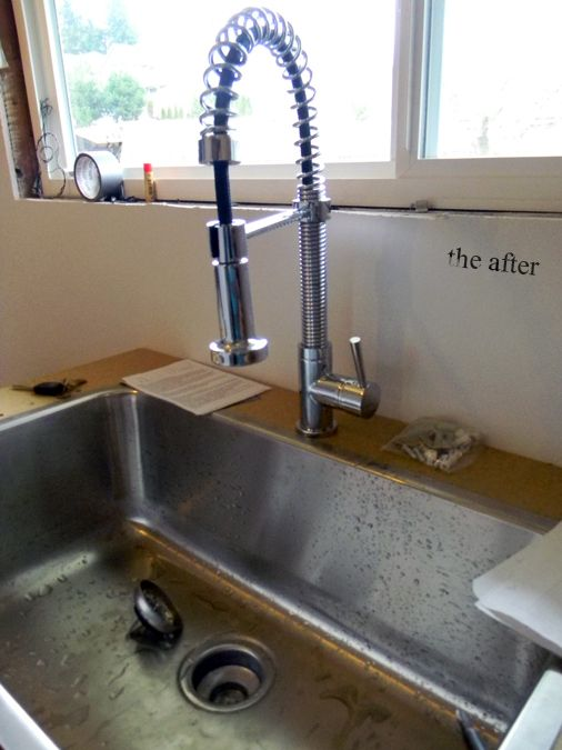 Love the sink and the faucet. Single-basin kitchen sinks are ...