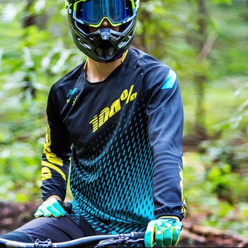 Long Sleeve cycling Jersey 2018 DH MX riding gear Quick Dry MTB Downhill Mountain  bike cycling 4b0b580f9