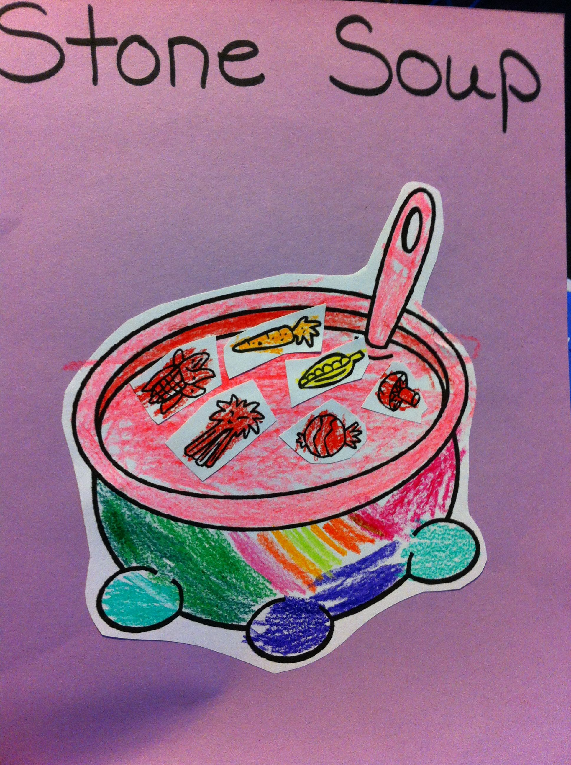 Stone Soup First We Read The Story Stone Soup And Then