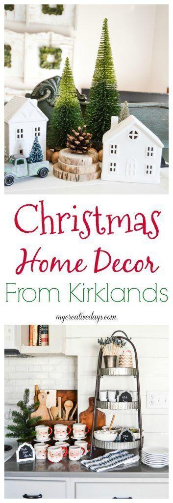 Christmas Home Decor From Kirklands Holidays - christmas home decor