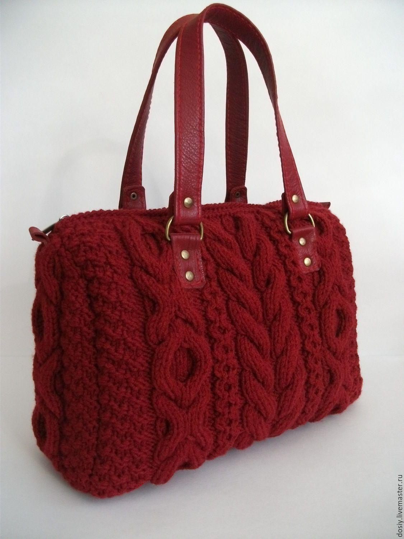 5e1f3cadd6a5 Женские сумки ручной работы. Ярмарка Мастеров - ручная работа. Купить  вязаная сумка-саквояж