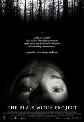 Blair Witch Project Movie poster Metal Sign Wall Art 8in x 12in