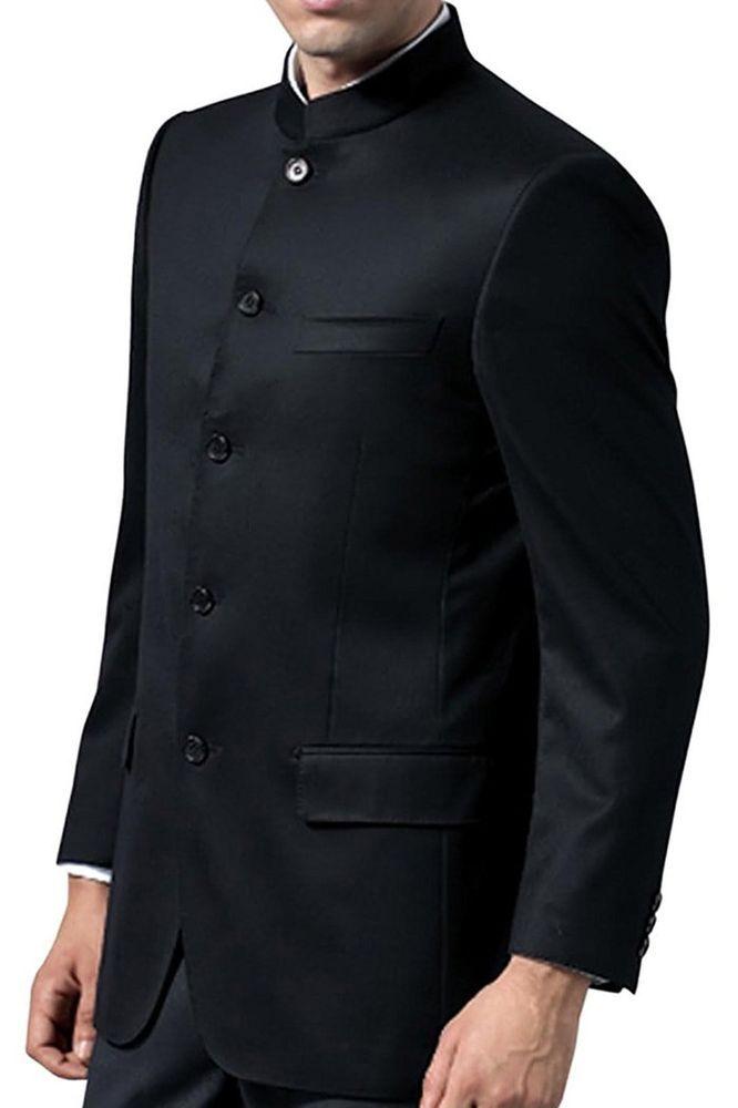 Mens Traditional Jodhpuri Suit Groom Indian Wedding Coat Pant Nehru
