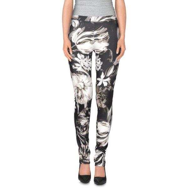 View  Leggings ($35) ❤ liked on Polyvore featuring pants, leggings, black, floral trousers, slim fit trousers, floral leggings, slimming leggings and floral print leggings