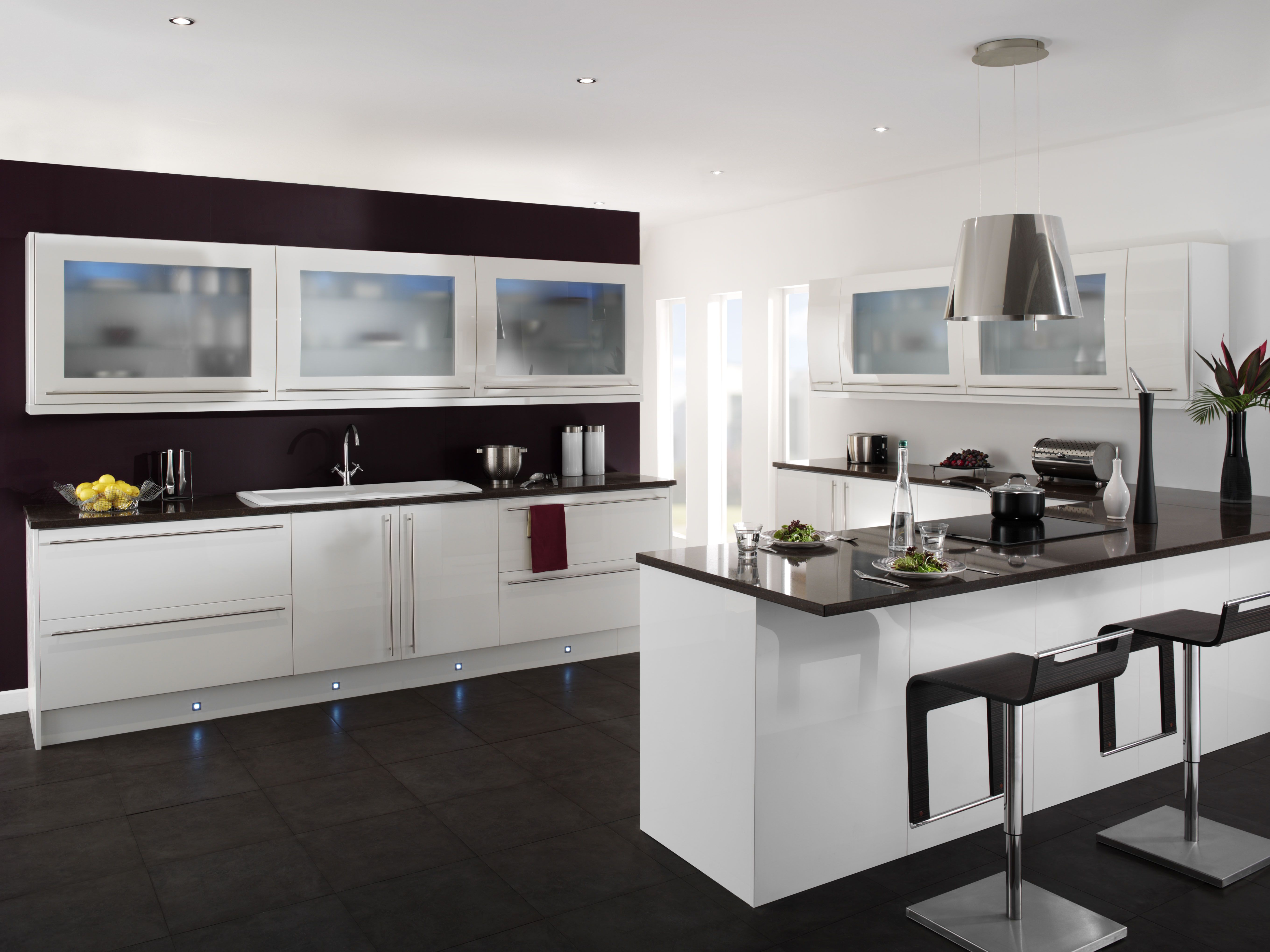 Importance Of Dining And Living Areas Today Is The Kitchen The Beauteous Black And White Kitchens Designs Design Decoration