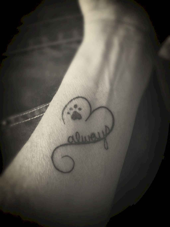 41 Most Beautiful Paw Print Tattoos Ideas #beautytatoos