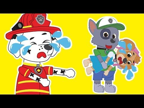 Paw Patrol Episodes ✤ Pups Save Tiny Marshall ✤ Full Episodes ✤ Nursery .