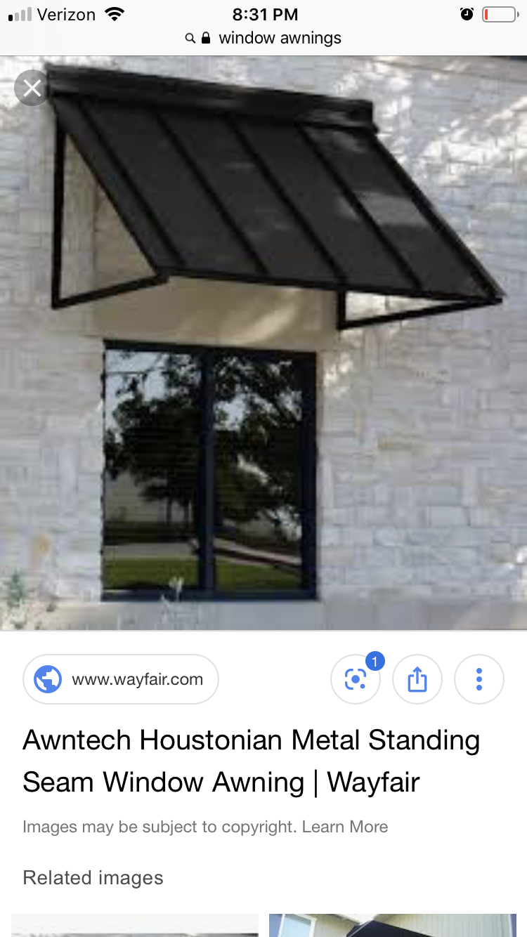 Awning | Metal awnings for windows, Awning, Awnings for sale