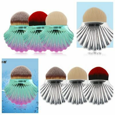 Brand Face Contour Mermaid Color Shell Brush Blush Powder Makeup Tool Concealer