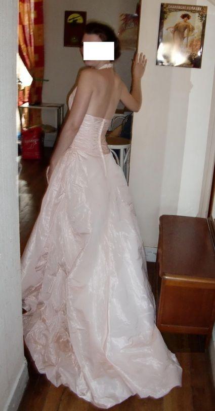robe rose p le t36 taille fine robes de mari e et