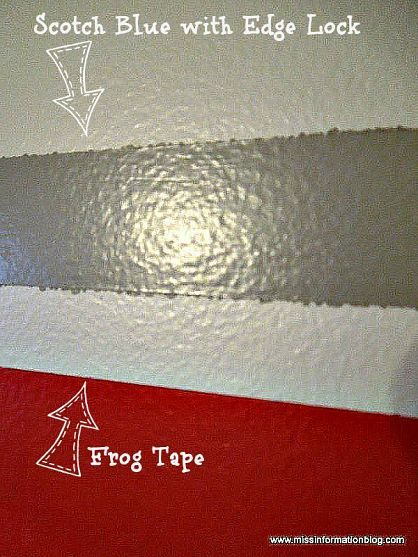 How To Paint Stripes On Walls Without Paint Bleeding