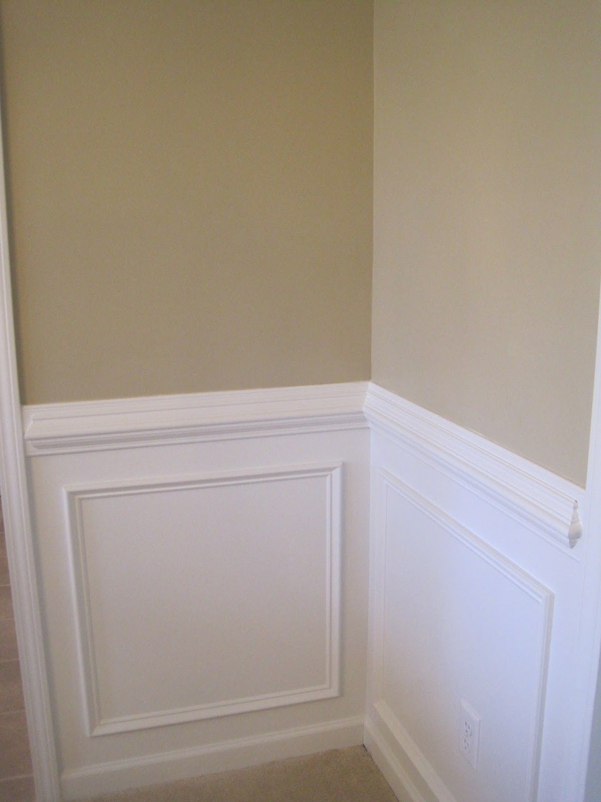Dining Room Paint Ideas With Chair Rail The Room I Don T