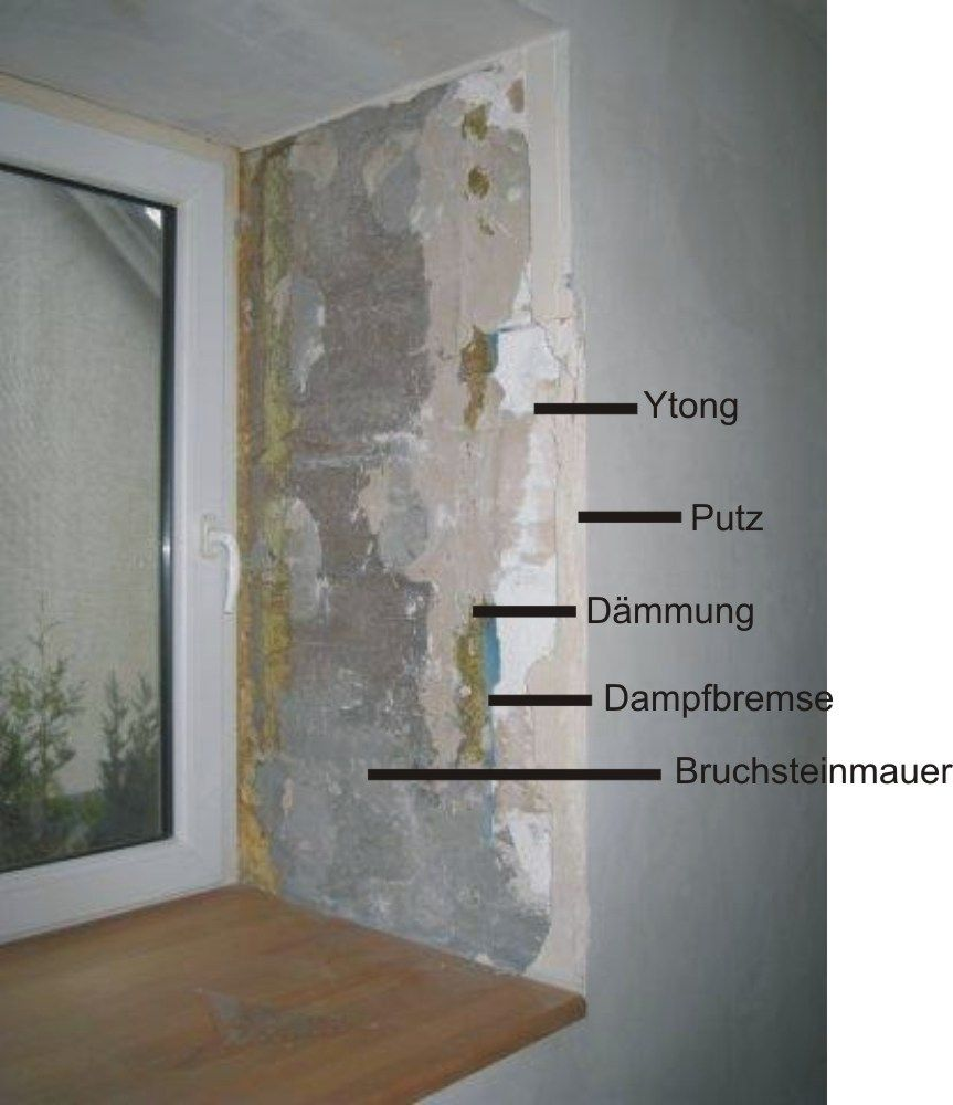 W rmed mmung der laibung energy pinterest architecture for Fenster ytong