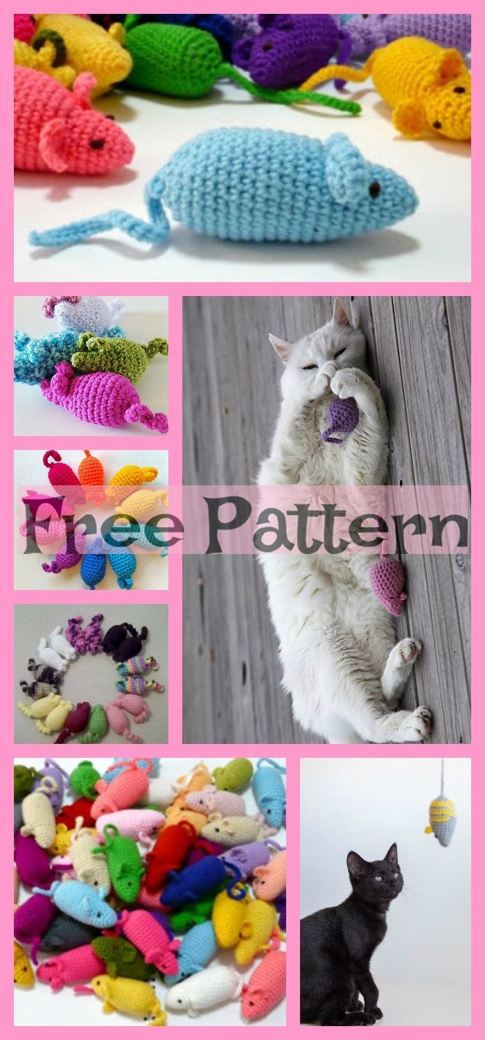 Crochet Mouse Toys for Cat  Free Patterns 631700285213794880