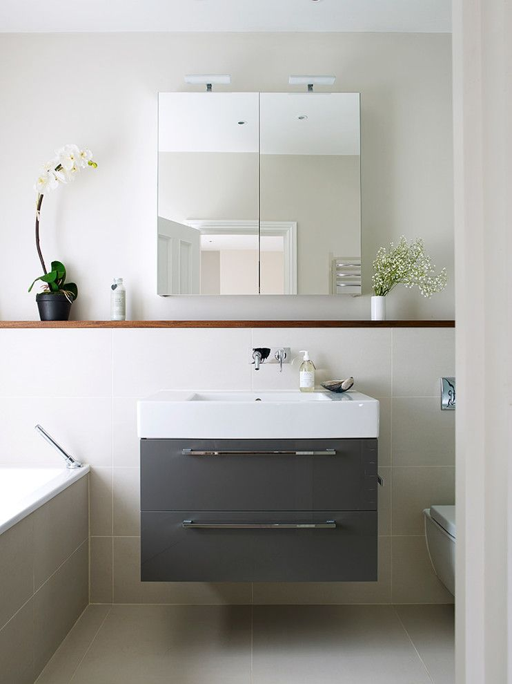 Dressing Room Wall Cabinet Big Floor Tiles Drawers Mirror Shelf Flowers Contemporary Bathroom Vanity Designs Bathroom Renovation Trends Medicine Cabinet Mirror