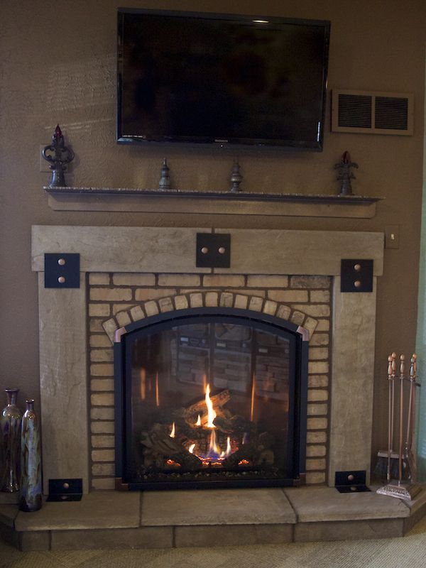 Amazing Mendota Fv41 Arch Gas Direct Fireplaces In 2019 Gas Beutiful Home Inspiration Truamahrainfo