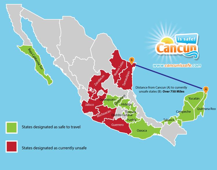 No Travel Warnings For Cancun Amp Riviera Maya U S State