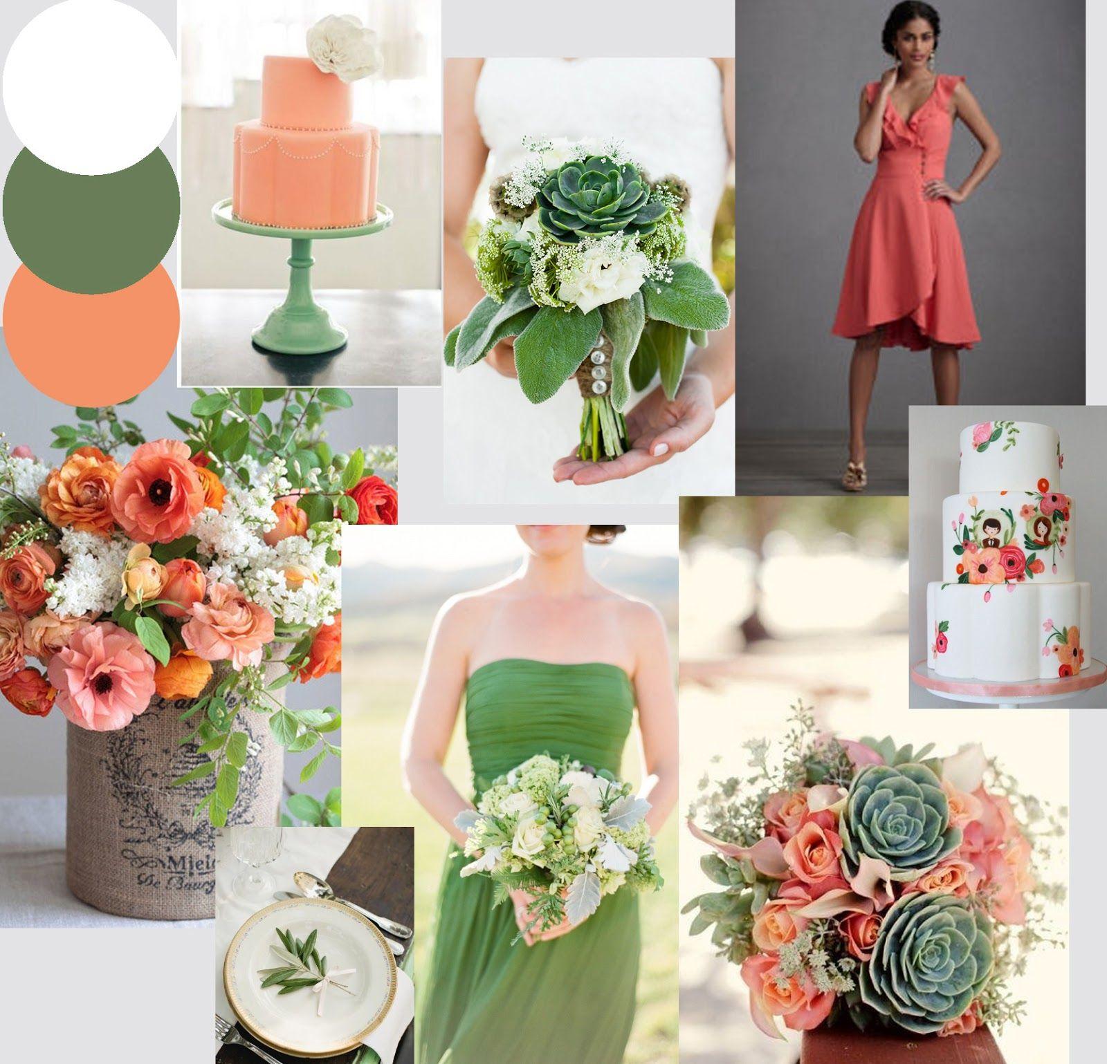 Coral Wedding, Pink Wedding Theme