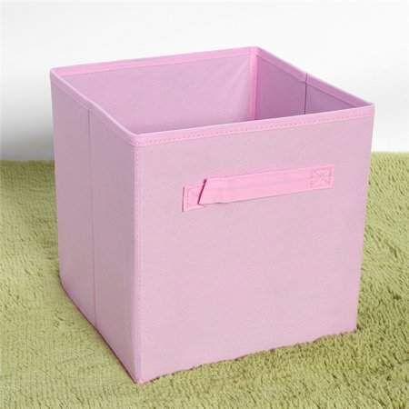 Qiilu 6pcs Foldable Storage Box Portable Non Woven Fabric Drawer Cubes Storage Bag Bin Lightwei Clothes Storage Boxes Fabric Storage Cubes Home Office Closet