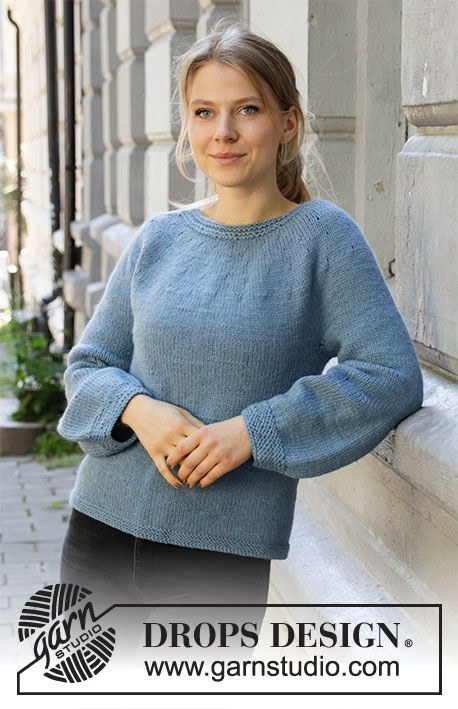 Blue November / DROPS 205-31 - Free knitting patterns by DROPS Design