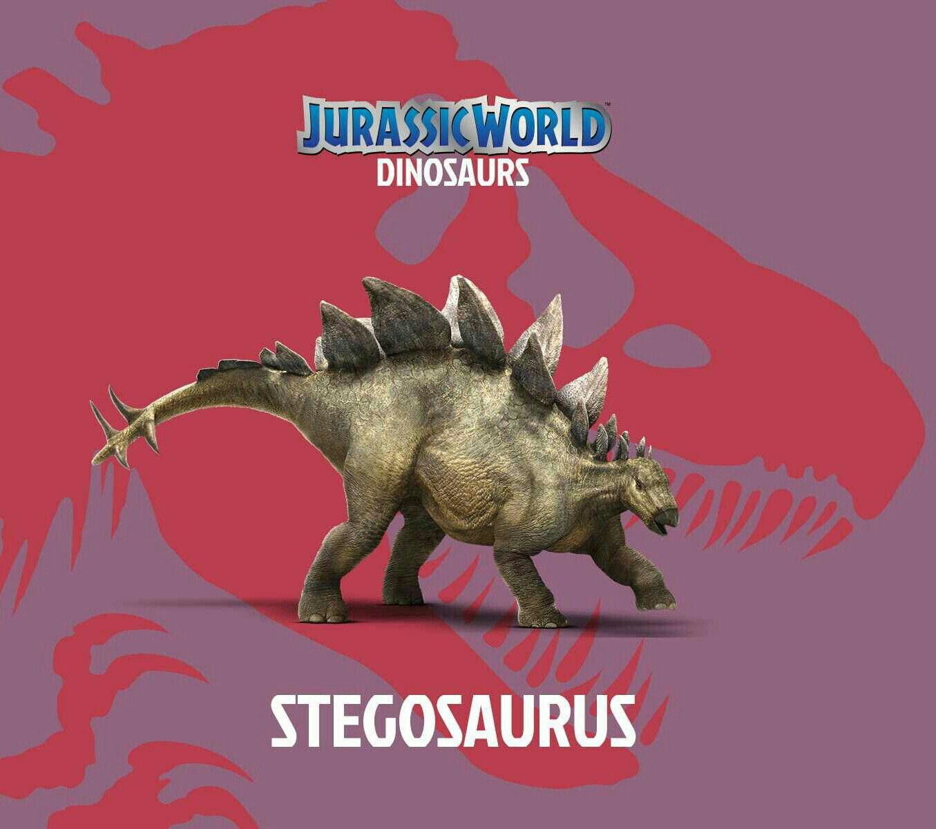 How To Draw A Stegosaurus From Jurassic World