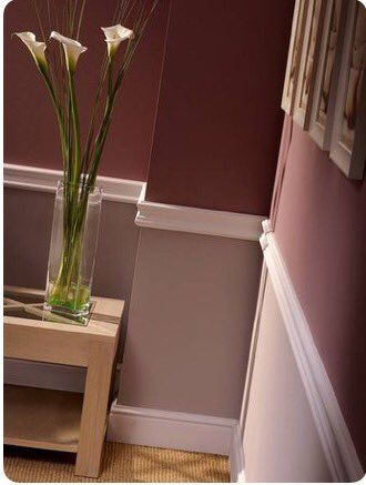 Image result for chair rail two tone paint colors | Home ...