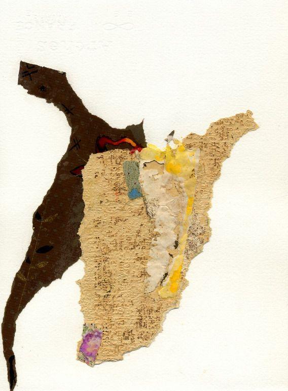 "Saatchi Online Artist: Bertil Hansson; Found Objects, 2009, Assemblage / Collage ""Collages 37"""