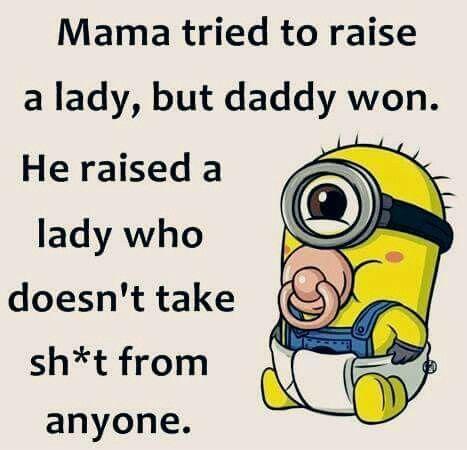 Daddy won