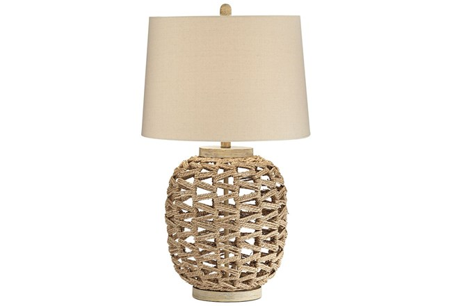 Table Lamp White Woven White Table Lamp Lamp Table Lamp