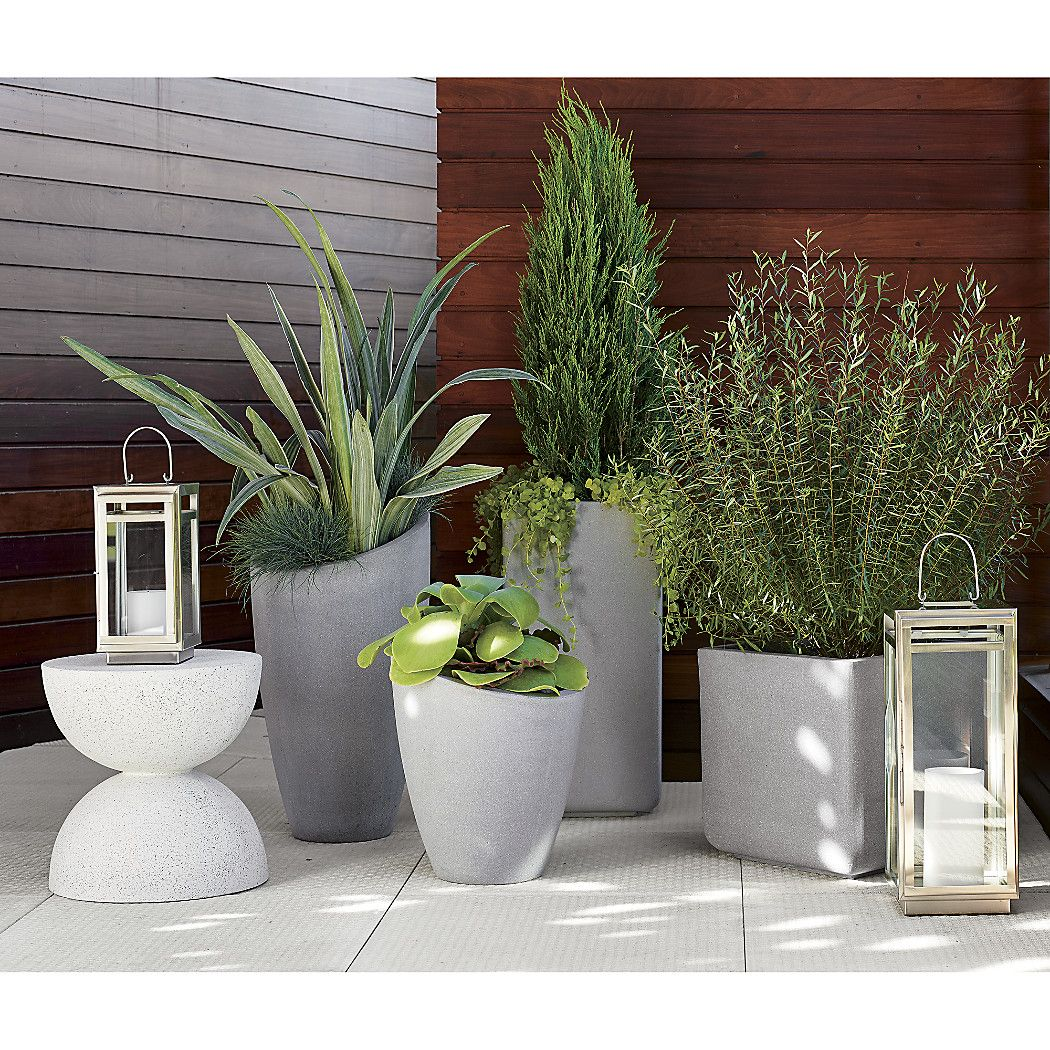 Square Large Planter Reviews Crate And Barrel Square 640 x 480
