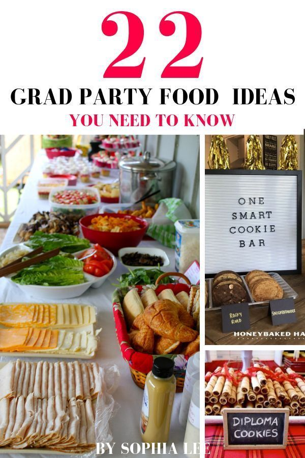 Best Graduation Party Food Ideas #graduationparties omg these graduation party f…