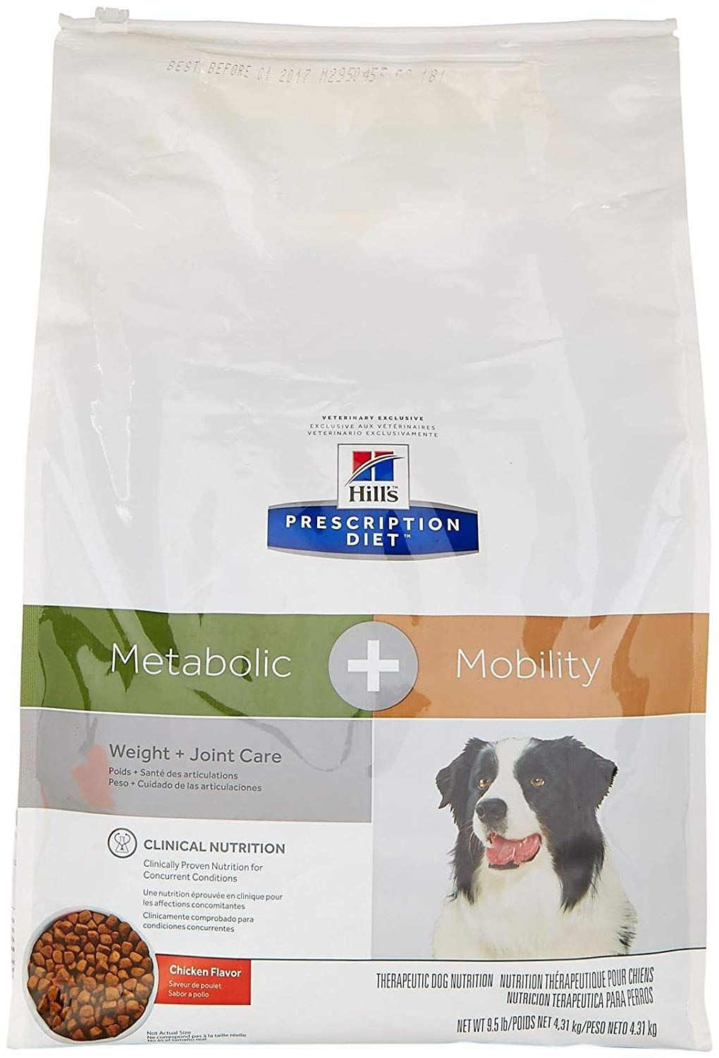 Hill S Prescription Diet Metabolic Mobility Canine Chicken Flavor 9 5lbs Thank You For Having Seen Our Photo Chicken Flavors Dog Nutrition Dry Dog Food
