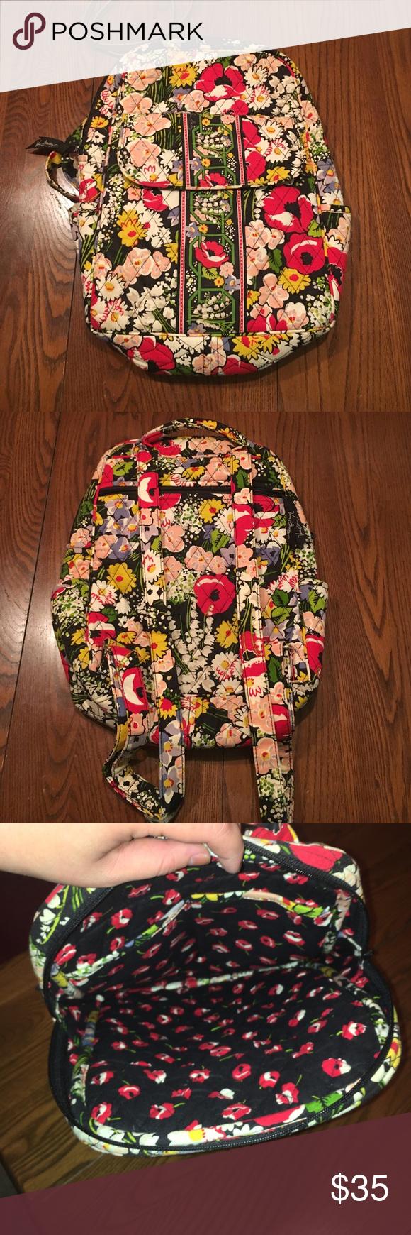 Vera Bradley backpack Cute floral Vera Bradley backpack still in excellent condition Vera Bradley Bags Backpacks