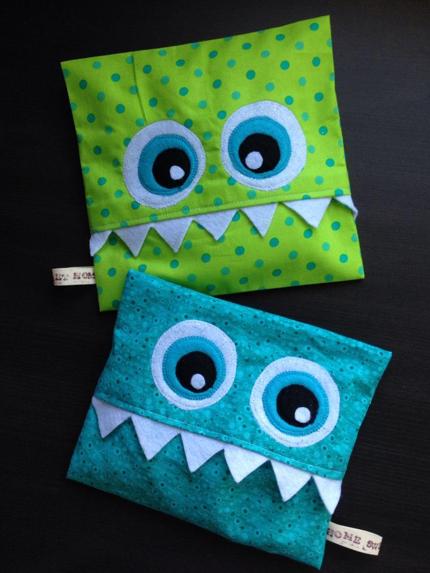 Coussin magique en patchwork designs