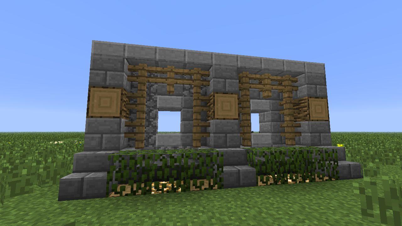 Image result for minecraft wall design | Minecraft ...