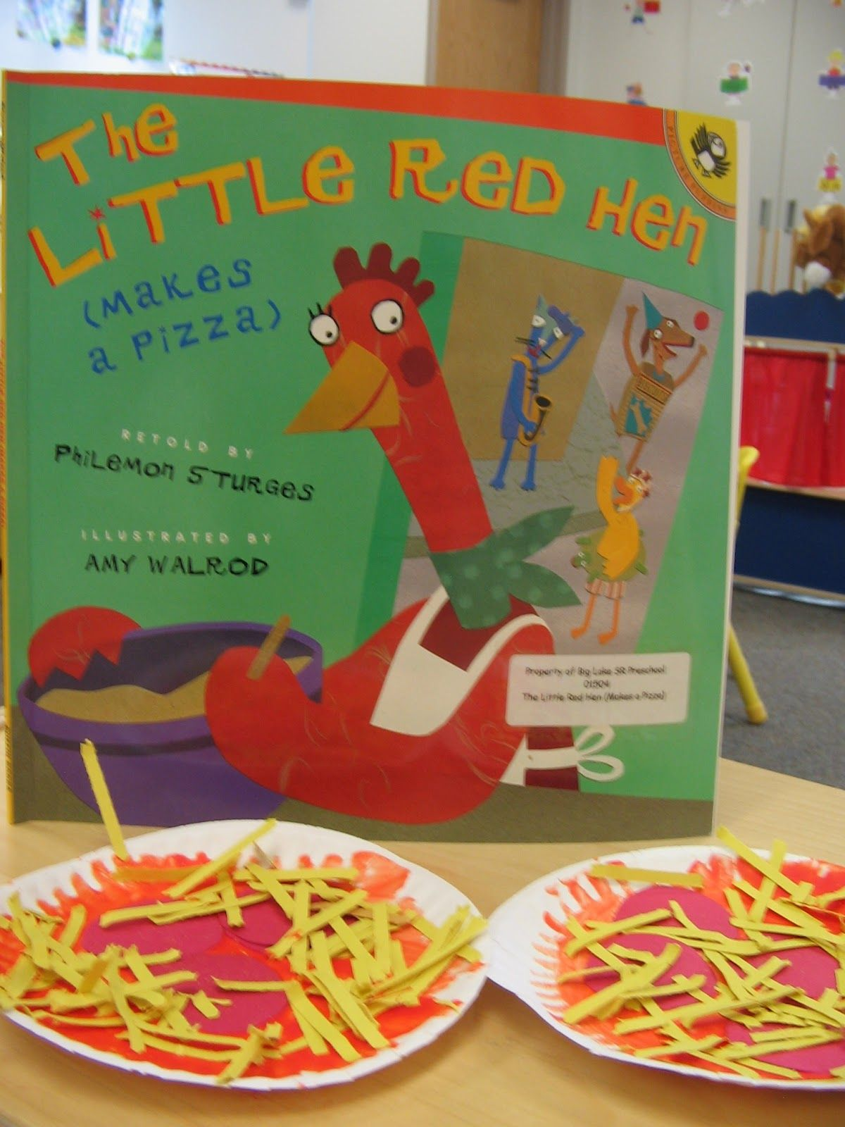 The Little Red Hen Makes A Pizza With Images