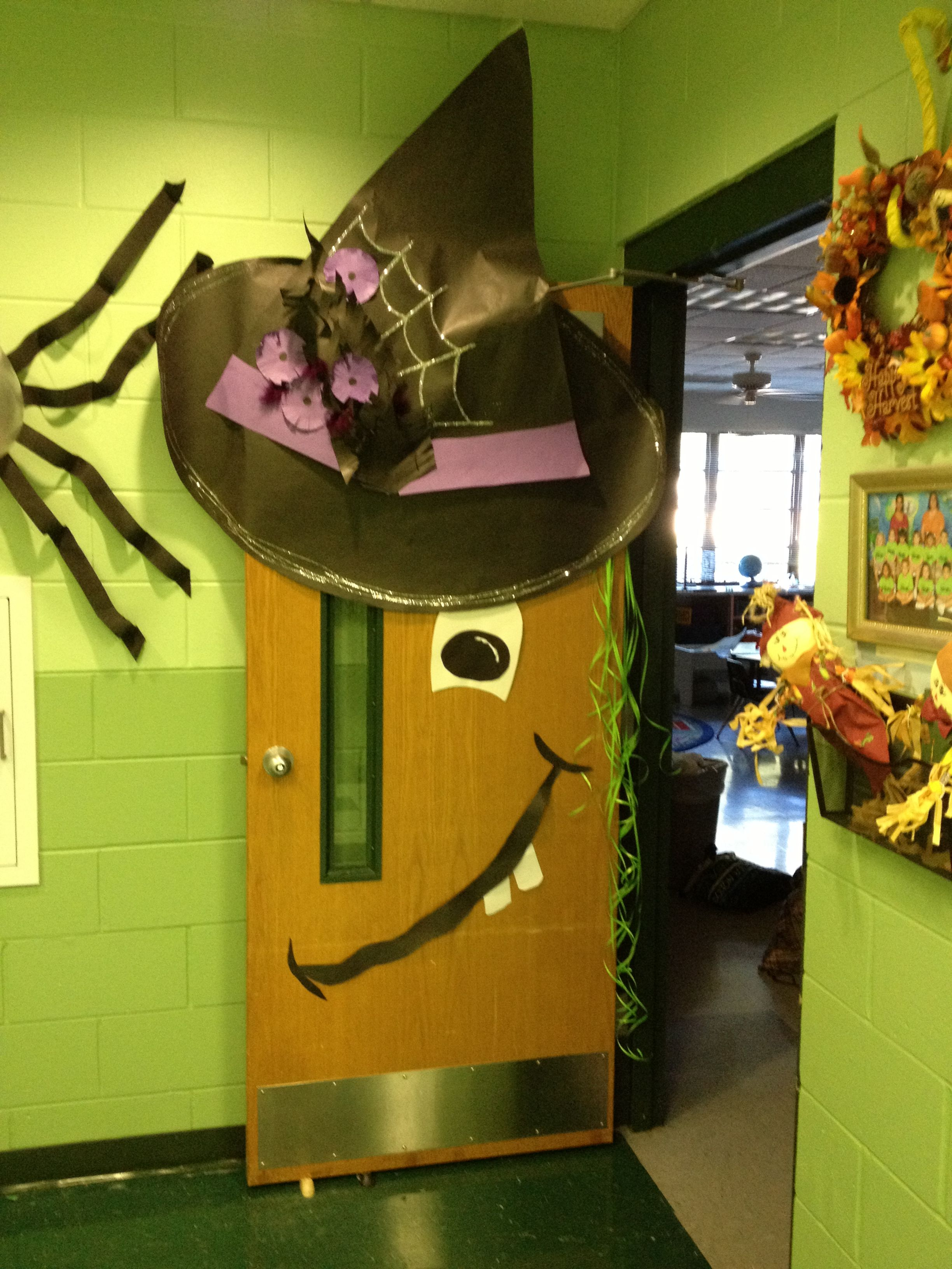 Halloween Door Decor For Classroom
