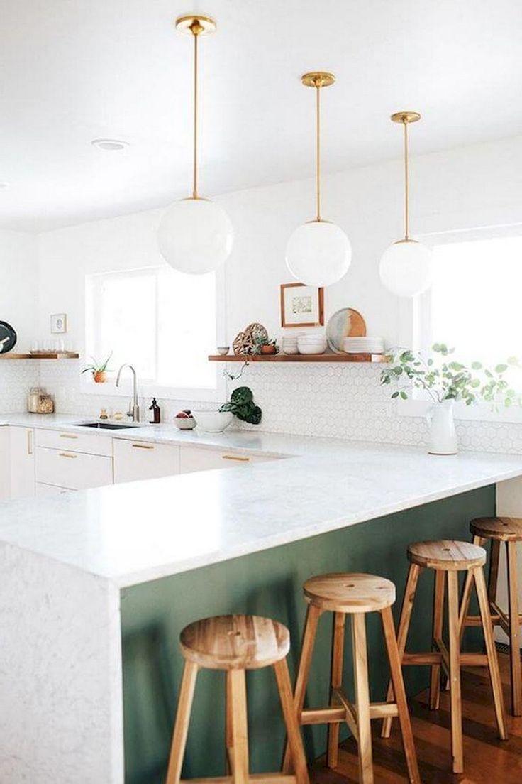 20+ étonnantes idées de décor de cuisine scandinave - #cuisine