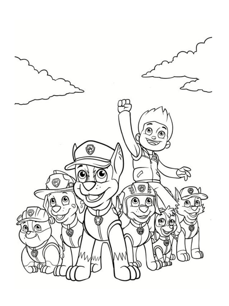 Coloriage Pat Patrouille 30 Dessins A Imprimer Gratuitement Coloriage Paw Patrol Dessin Pat Patrouille Coloriage Pat Patrouille