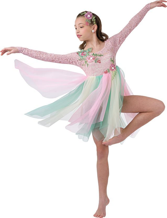 Lyric solo lyrical dance costumes : Costume Gallery | Whisper Softly Ballet Girls Costume | Ballet ...